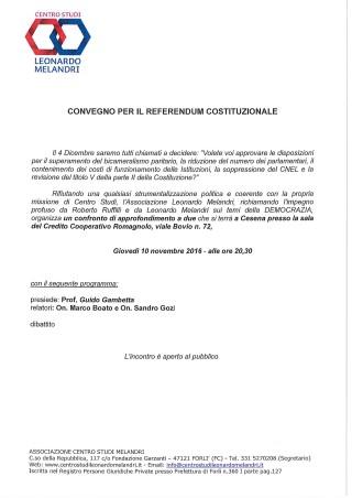 Dibattito a Cesena